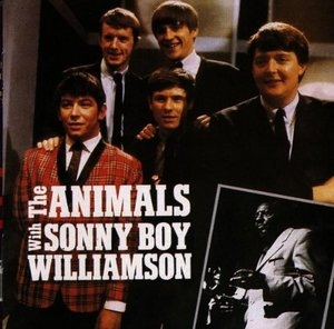 The Animals With Sonny Boy Williamson album cover