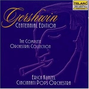 Gershwin: The Complete Orchestral Collection album cover