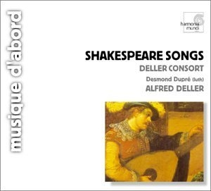 Shakespeare Songs And Consort Music album cover
