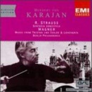 Strauss: Sinfonia Domestica~ Wagner: Lohengrin album cover