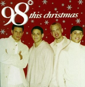 This Christmas album cover