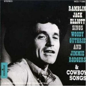 Sings Woody Guthrie And Jimmie Rodgers & Cowboy Songs album cover