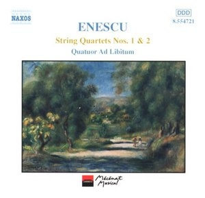 Enescu: String Quartets Nos.1 & 2 album cover