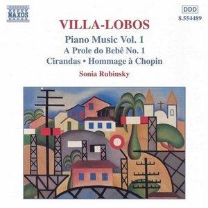 Villa-Lobos: Piano Music Vol.1 album cover