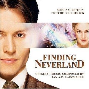 Finding Neverland: Original Motion Picture Soundtrack album cover