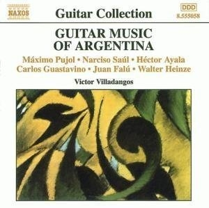 Guitar Music Of Argentina album cover
