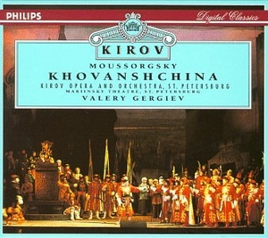 Moussorgsky: Khovanshchina album cover