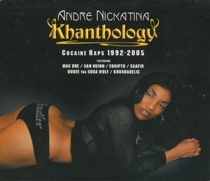 Khanthology: Cocaine Raps 1992-2005 album cover