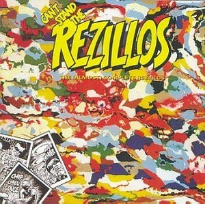 Can't Stand The Rezillos-The Almost Complete album cover