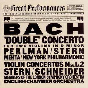 JS Bach: Double Concerto, Violin Concertos Nos.1 & 2 album cover