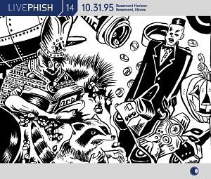 Live Phish Vol.14 album cover