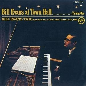 Bill Evans At Town Hall album cover