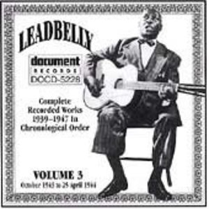 Complete Recorded Works Vol.3 (1943-1944) album cover