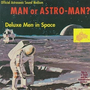 Deluxe Men In Space (EP) album cover