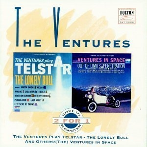 The Ventures Play Telstar-The Ventures In Space album cover