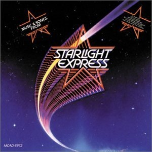 Starlight Express (1987 Studio Cast) album cover