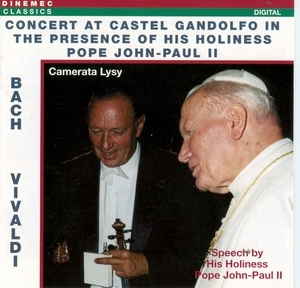 Concert At Castel Gandolfo In The Presence Of His Holiness Pope John-Paul II album cover