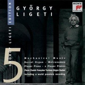 Ligeti-Mechanical Music album cover