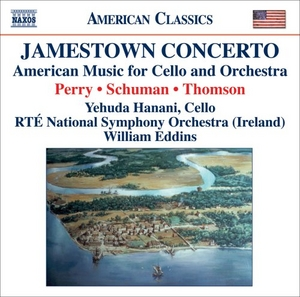 Jamestown Concerto: American Music For Cello & Orchestra album cover