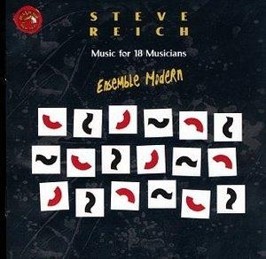 Reich: Music For 18 Musicians album cover