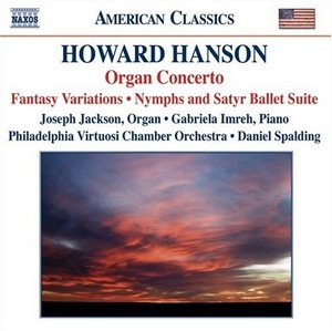 Howard Hanson: Organ Concerto album cover