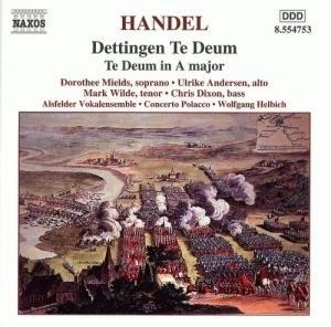 Handel: Dettingen Te Deum album cover