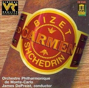 Bizet-Shchedrin-Carmen album cover