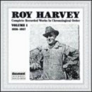 Roy Harvey Complete Recorded Works Vol.1 (1926-1927) album cover