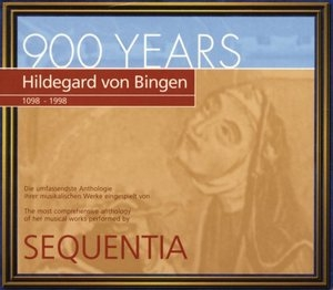 Hildegard Von Bingen: Canticles Of Ecstasy album cover