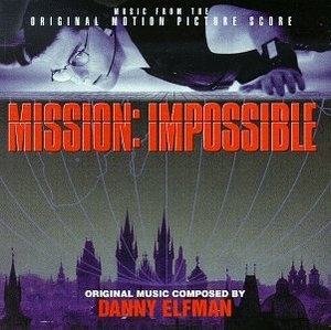 Mission Impossible (Music From The Original Motion Picture Score) album cover