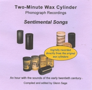 Wax Cylinder: Sentimental Songs album cover
