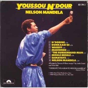 Nelson Mandela album cover