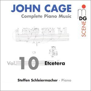 Cage: Complete Piano Music Vol.10 album cover
