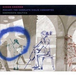 Mozart: The Complete Violin Concertos album cover