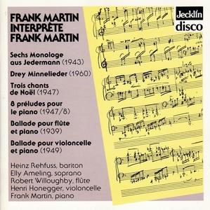 Frank Martin Interprete Frank Martin album cover