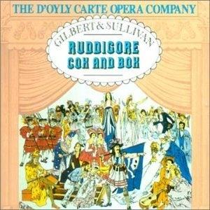 Gilbert & Sullivan: Ruddigore~ Cox & Box album cover
