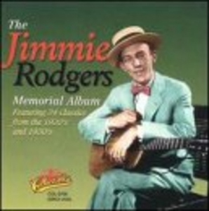 The Jimmie Rodgers Memorial Album album cover