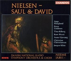 Nielsen: Saul & David album cover