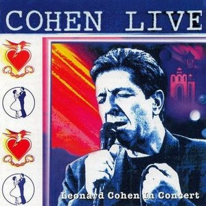 Cohen Live album cover