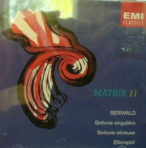 Berwald: Sinfonie Singuliere, Sinfonie Serieuse, Elfenspiel album cover
