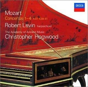 Mozart-Concertos 1-4 album cover