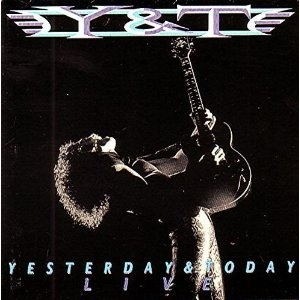 Yesterday & Today Live album cover