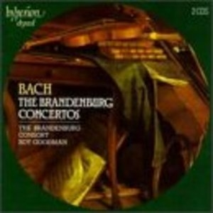 JS Bach: The Brandenburg Concertos album cover