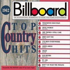 Billboard Top Country Hits: 1962 album cover