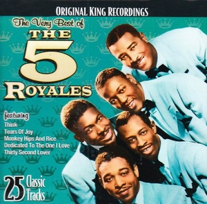 The Very Best Of The 5 Royales album cover