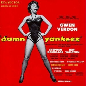 Damn Yankees  (1955 Braodway Cast) album cover
