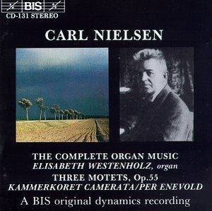 Nielsen: The Complete Organ Music album cover