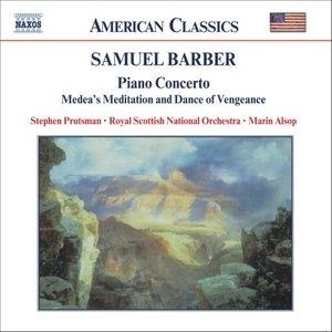Barber: Piano Concerto album cover