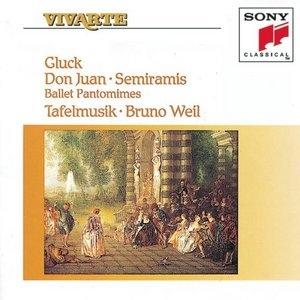 Gluck: Don Juan~ Semiramis album cover