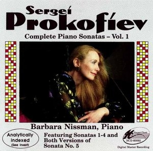 Prokofiev: Complete Piano Sonatas Vol.1 album cover